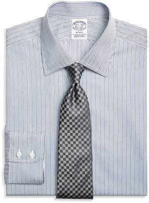 Brooks Brothers Regent Fitted Dress Shirt, Rope Stripe