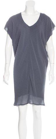Balenciaga Balenciaga Silk Textured Dress