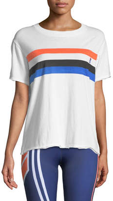 P.E Nation Middle Distance Raw-Edge Tee