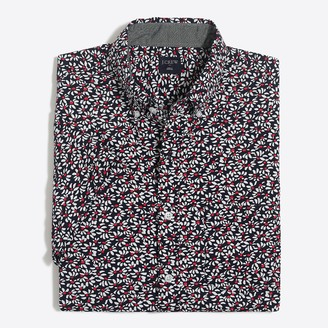 Mercantile Slim-fit short-sleeve printed shirt