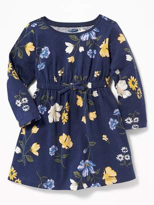 Old Navy Waist-Defined Floral Dress for Baby