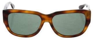 Donna Karan Tinted Square Sunglasses