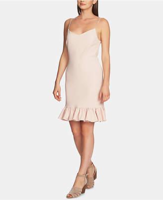 1 STATE 1.state Ruffle-Hem A-Line Dress