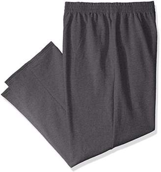 Fruit of the Loom Men's Pocketed Open-Bottom Sweatpants (2 Pack)