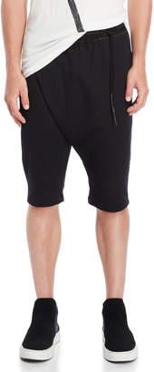 Undercoat Black Weekend Draped Shorts