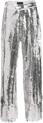 Dima Ayad wide-leg flared trousers