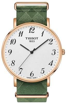 Tissot Unisex Everytime Large NATO Watch, 42mm