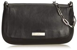 Gucci Vintage Leather Chain Baguette