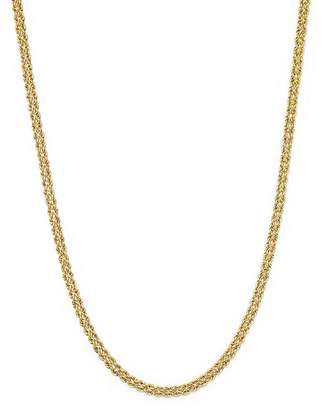 """Bloomingdale's 14K Yellow Gold Double Row Light Rope Necklace, 18"""" - 100% Exclusive"""