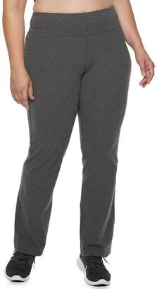 Tek Gear Plus Size Dry Tek Straight Leg Sweatpants