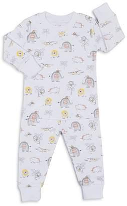 Kissy Kissy Boys' Jungle-Print 2-Piece Pajama Shirt & Pants Set - Baby