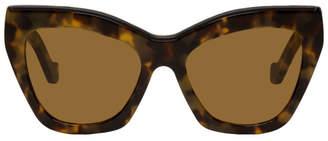 b4583b4c46a Loewe Tortoiseshell Cat-Eye Sunglasses
