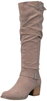 Madden-Girl Women's FLAASH Knee High Boot 9 M US