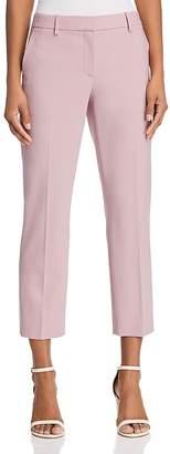 Theory Treeca Stretch-Wool Cropped Pants