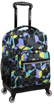 J World JWorld Sunslider Spinner Backpack, Cubes