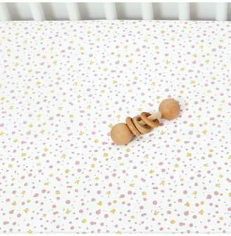 Dacor December Made Pinkspot Crib Sheet