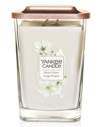 Yankee Candle Elevation Sheer Linen