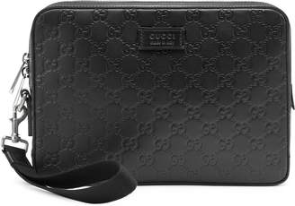 Gucci Signature leather men's bag