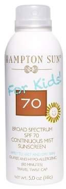 Hampton Sun SPF 70 For Kids Continuous Mist Sunscreen