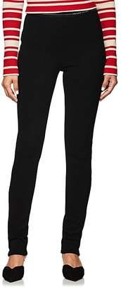 Prada Women's Logo-Waistband Rib-Knit Leggings