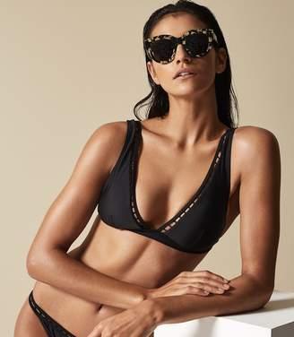 Reiss Maggiore Triangle Bikini Top