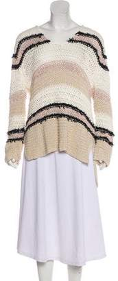 Rag & Bone Hooded Long Sleeve Sweater