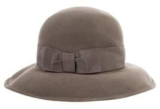 b2b2680ae Giorgio Armani Wide-Brim Rabbit Felt Hat