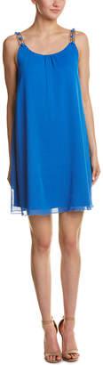 Kensie Chiffon Shift Dress