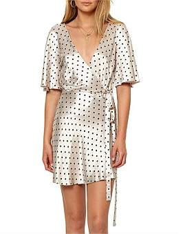 Bec & Bridge Bon Appetit Wrap Dress
