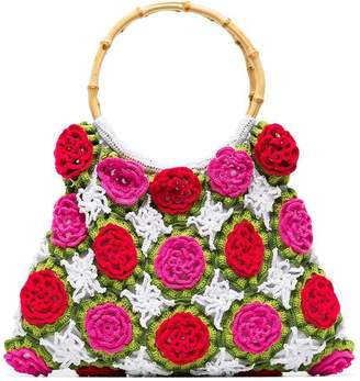 My Beachy Side Rosetta crochet tote bag