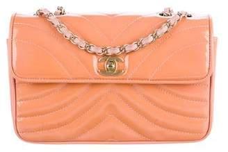 Chanel Chevron Patent Flap Bag