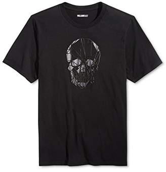William Rast Men's Skull Head Graphic Tee Shirt