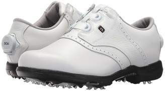 Foot Joy FootJoy DryJoys Cleated BOA Traditional Blucher Saddle Women's Golf Shoes