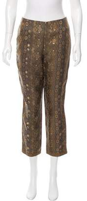 Ralph Lauren Printed Silk Pants w/ Tags