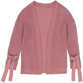 85bcb1a76 Girls Chunky Knit Cardigan - ShopStyle UK