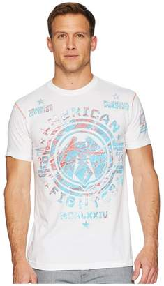 American Fighter Clarion Short Sleeve 50/50 Cotton Tee Men's T Shirt