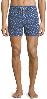 Loro Piana Men's Beach Lounger Swim Shorts