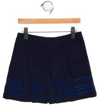 Junior Gaultier Girls' Knit Mini Skirt
