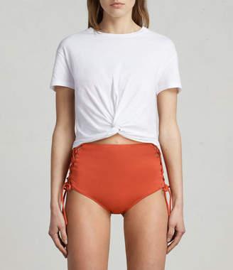 AllSaints Lazo Highwaist Bikini Briefs