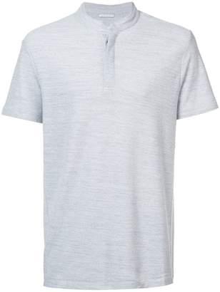 Homecore mandarin collar polo shirt