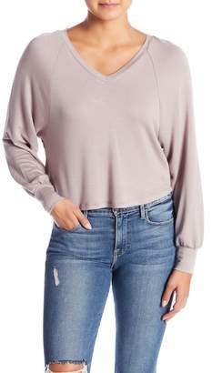 HIATUS Strappy V-Neck Sweater