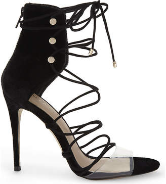 Aldo Somerly velvet strap sandals