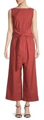 Brunello Cucinelli Self-Tie Sleeveless Jumpsuit