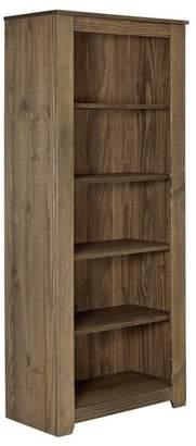 At Argos Home Amersham Solid Wood Bookcase Dark Pine