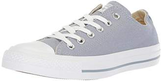 Converse Chuck Taylor All Star Perforated Canvas Low Top Sneaker Glacier Grey White