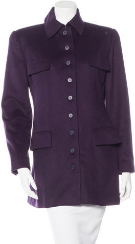 Balenciaga Balenciaga Single-Breasted Short Coat