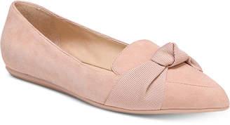 Franco Sarto Adrianni Pointed-Toe Slip-On Flats Women's Shoes