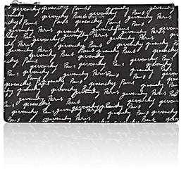 Givenchy Women's Iconic-Print Medium Zip Pouch - Wht.&blk.