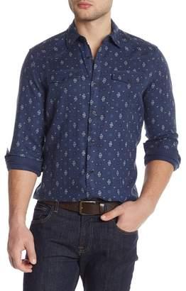 WALLIN & BROS Wester Paisley Long Sleeve Shirt