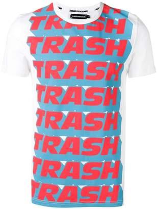 House of Holland x Andrew Brischler 'Trash' print T-shirt